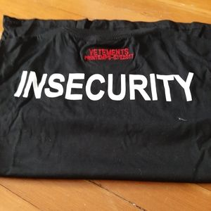 Brand New Vetements Tshirt